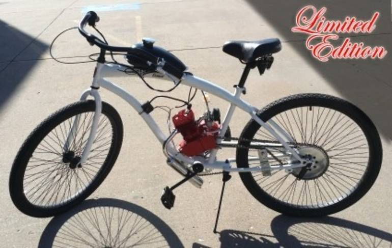 See more photos for this Gsi 80cc Limited Edition Dewey Bicycle With Engine & Stretc, 2015 motorcycle listing