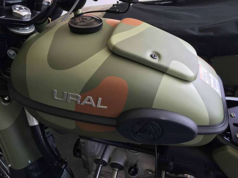 See more photos for this Ural Gear-Up, 2015 motorcycle listing