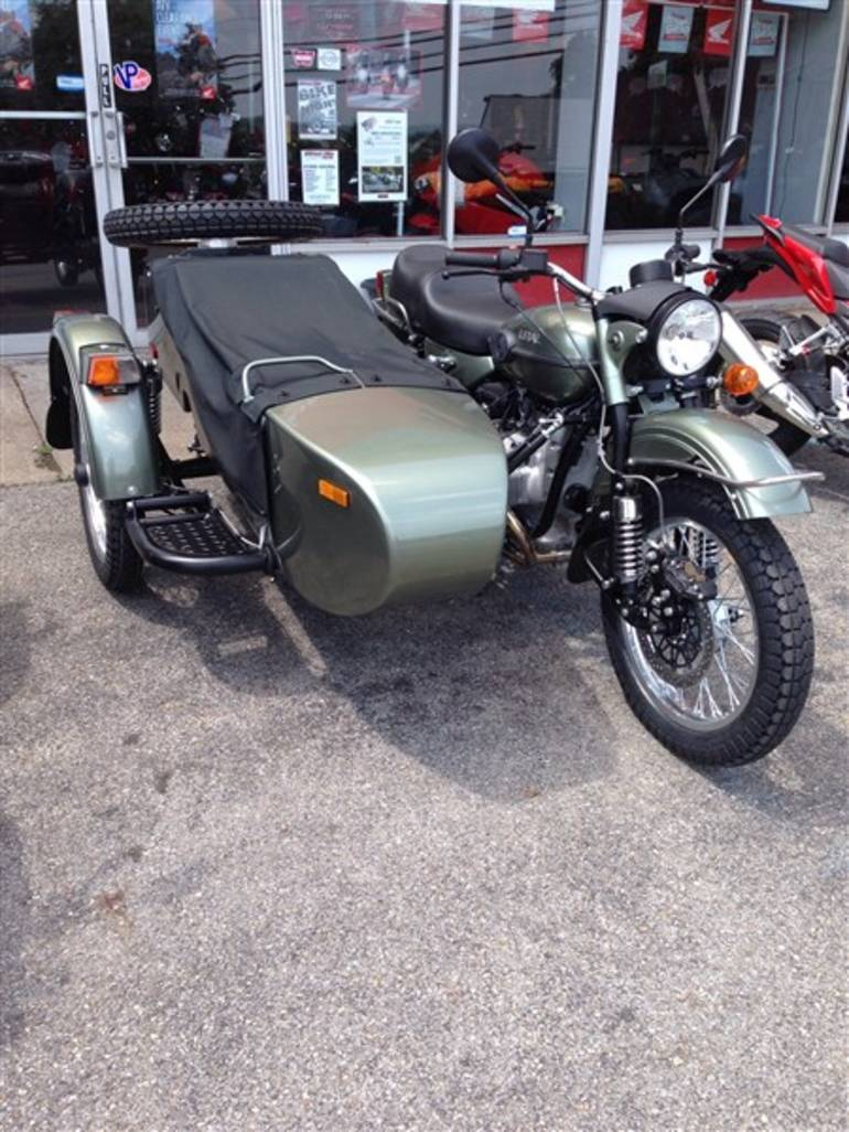 See more photos for this Ural PATROL PATROL, 2015 motorcycle listing