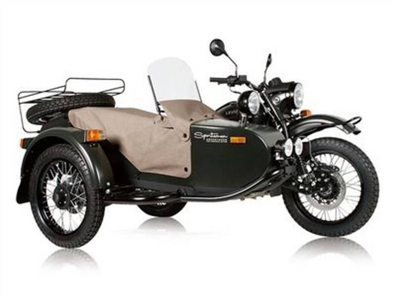 See more photos for this Ural SPORTSMAN, 2015 motorcycle listing