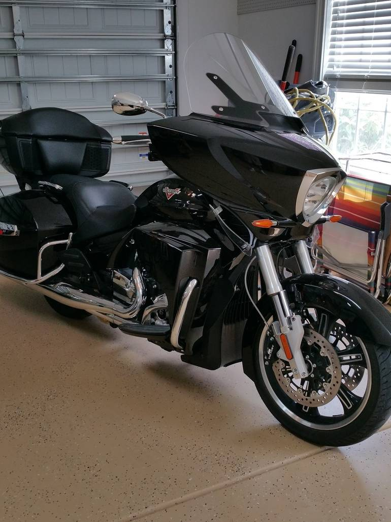 See more photos for this Victory Cross Country TOUR, 2013 motorcycle listing
