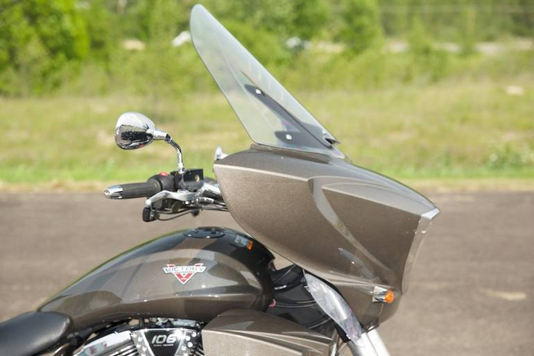 See more photos for this Victory Cross Country Tour Bronze Mist, 2013 motorcycle listing