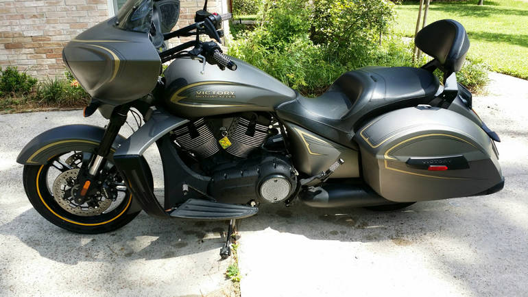 2013 victory cross country zach ness zach ness motorcycle from the woodlands tx today sale. Black Bedroom Furniture Sets. Home Design Ideas