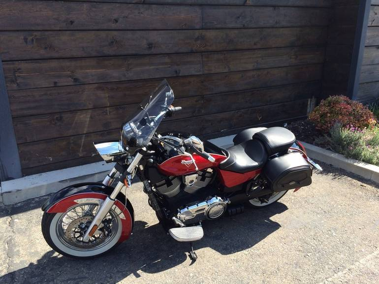 See more photos for this Victory Boardwalk Gloss Black Over Sunset Red Tw, 2014 motorcycle listing