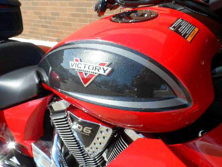 See more photos for this Victory Cross Country Tour, 2015 motorcycle listing