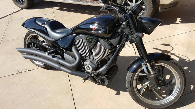 2013 Victory Hammer 8-BALL 8-BALL Motorcycle From Yukon, OK,Today ...