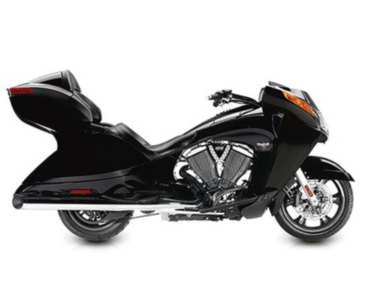 See more photos for this Victory Vision Tour Gloss Black, 2015 motorcycle listing