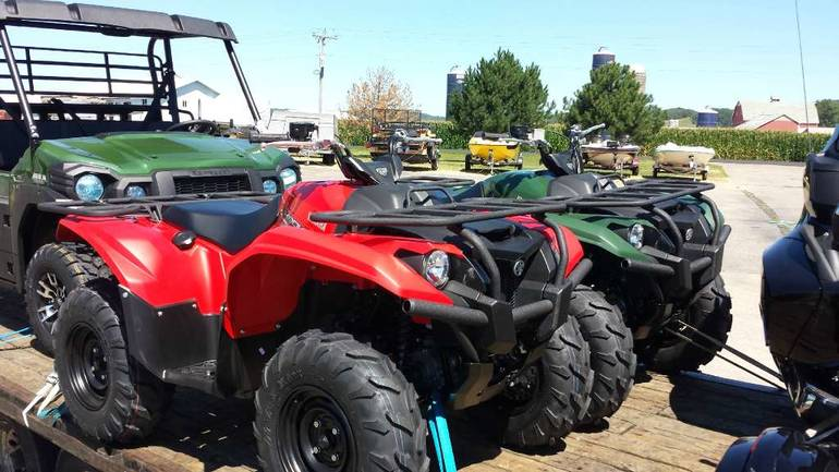 See more photos for this Yamaha Kodiak 700 Red, 2016 motorcycle listing