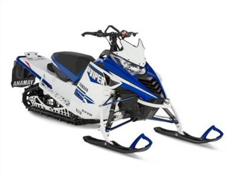 See more photos for this Yamaha SRViper M-TX 141 SE White / Yamaha Blue, 2016 motorcycle listing
