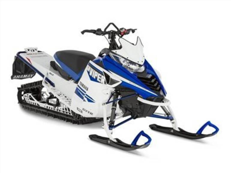 See more photos for this Yamaha SRViper M-TX 162 SE White / Yamaha Blue, 2016 motorcycle listing