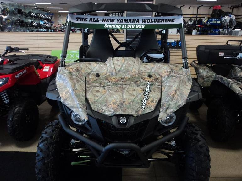 See more photos for this Yamaha Wolverine R-Spec - Realtree Xtra, 2016 motorcycle listing