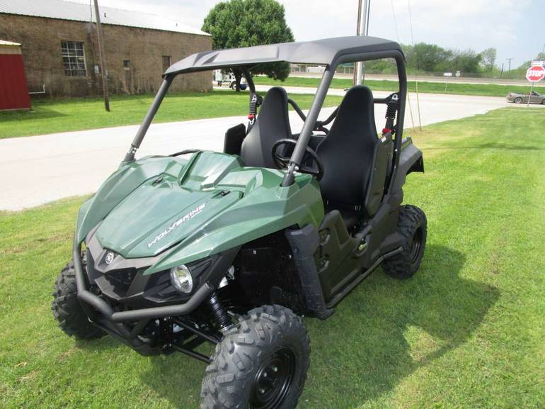 See more photos for this Yamaha Wolverine R-Spec EPS Hunter Green, 2016 motorcycle listing