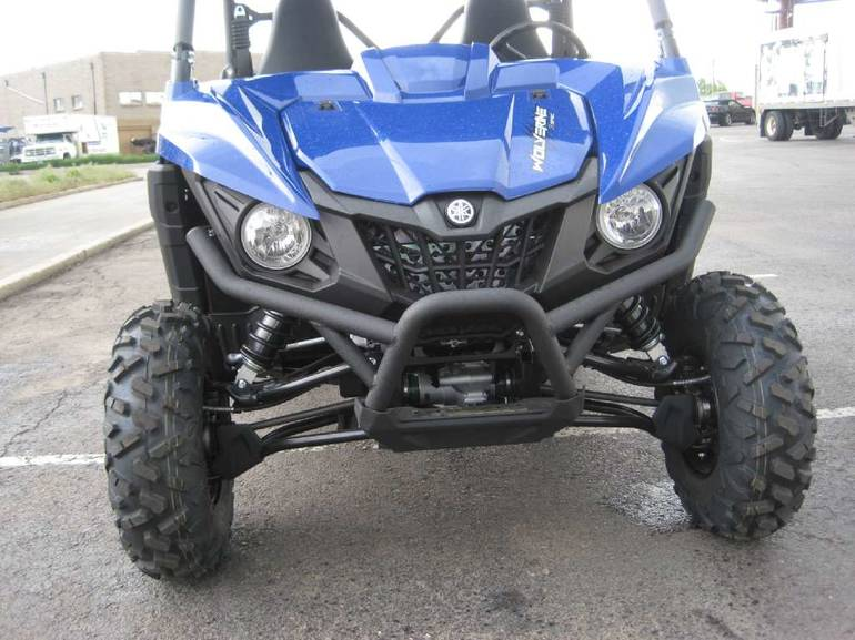 See more photos for this Yamaha Wolverine R-Spec EPS Steel Blue, 2016 motorcycle listing