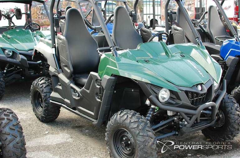 See more photos for this Yamaha Wolverine R-Spec Hunter Green, 2016 motorcycle listing