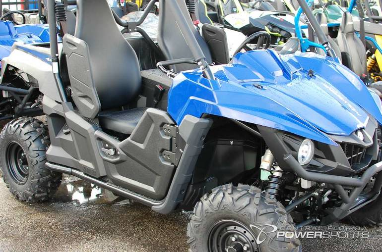 See more photos for this Yamaha Wolverine R-Spec Steel Blue, 2016 motorcycle listing