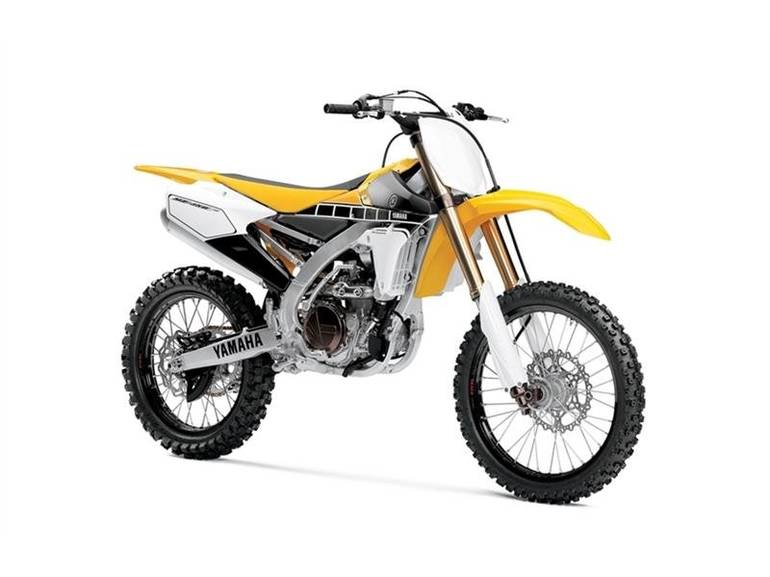 See more photos for this Yamaha YZ450F 60th Anniversary Yellow, 2016 motorcycle listing