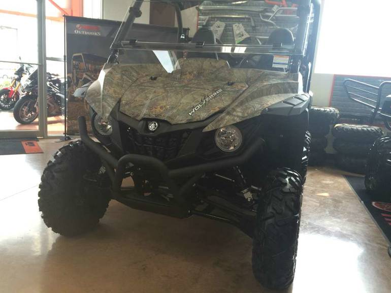 See more photos for this Yamaha Wolverine R-Spec EPS Camo, 2016 motorcycle listing