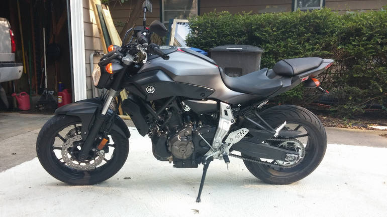 2015 yamaha fz 07 motorcycle from des moines ia today for Yamaha dealer des moines