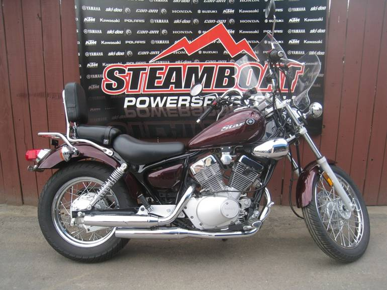 2009 Yamaha V Star 250 Motorcycle From Steamboat Springs, CO