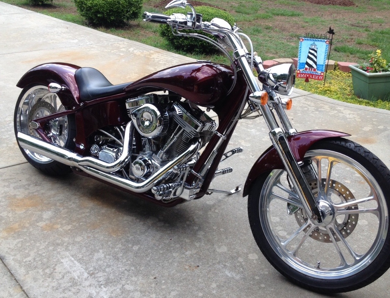 2004 American Ironhorse Outlaw, motorcycle listing
