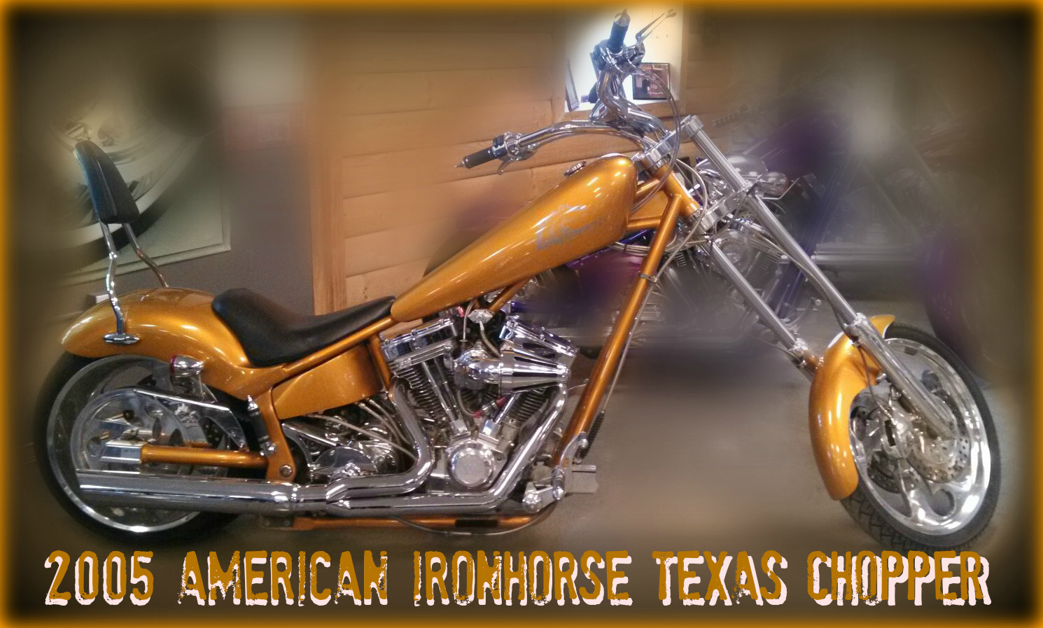 2005 American Ironhorse TEXAS CHOPPER, motorcycle listing