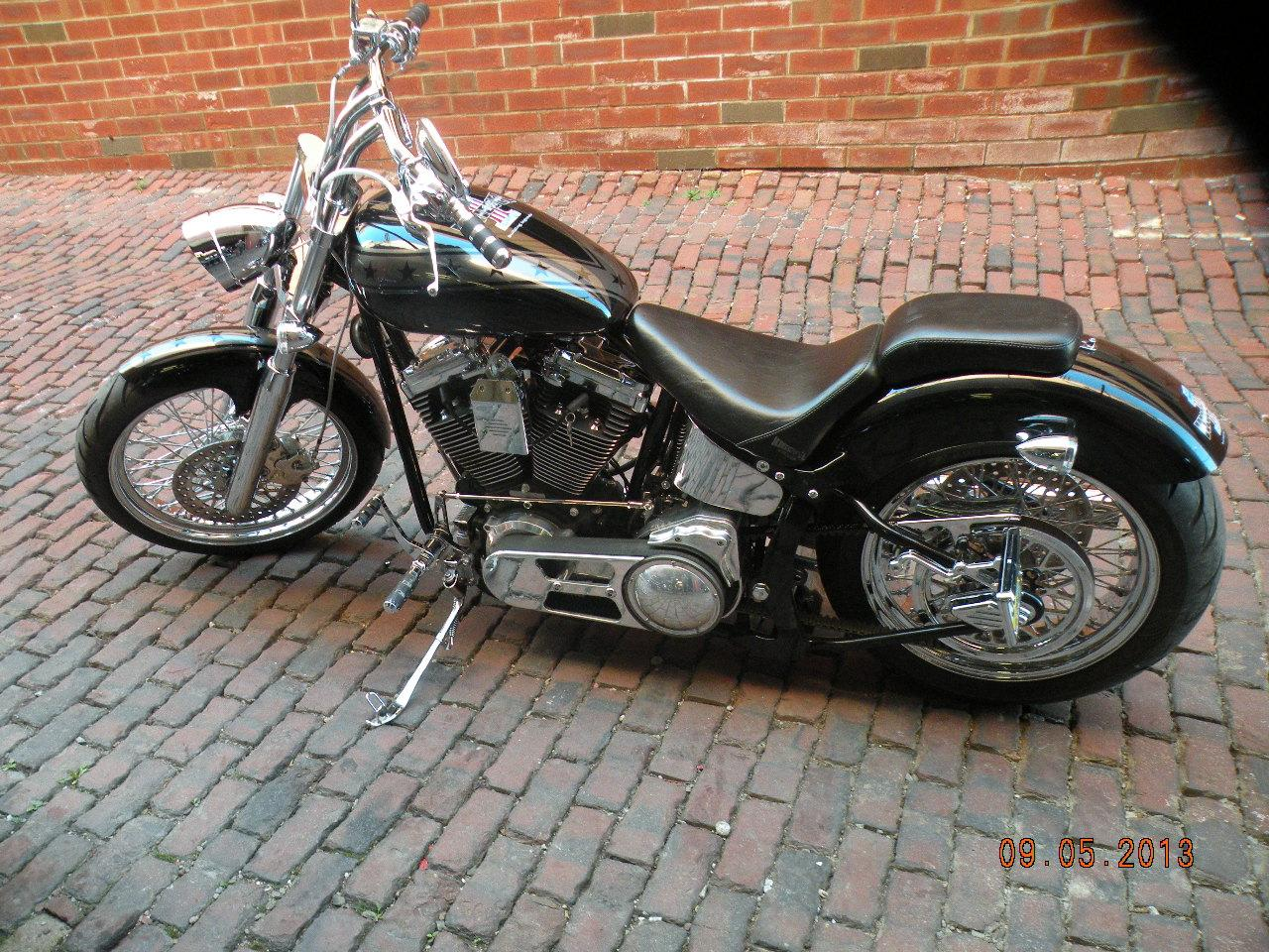 2011 Knievel Cycles Custom Bobber Chopper IronHorse Big, motorcycle listing