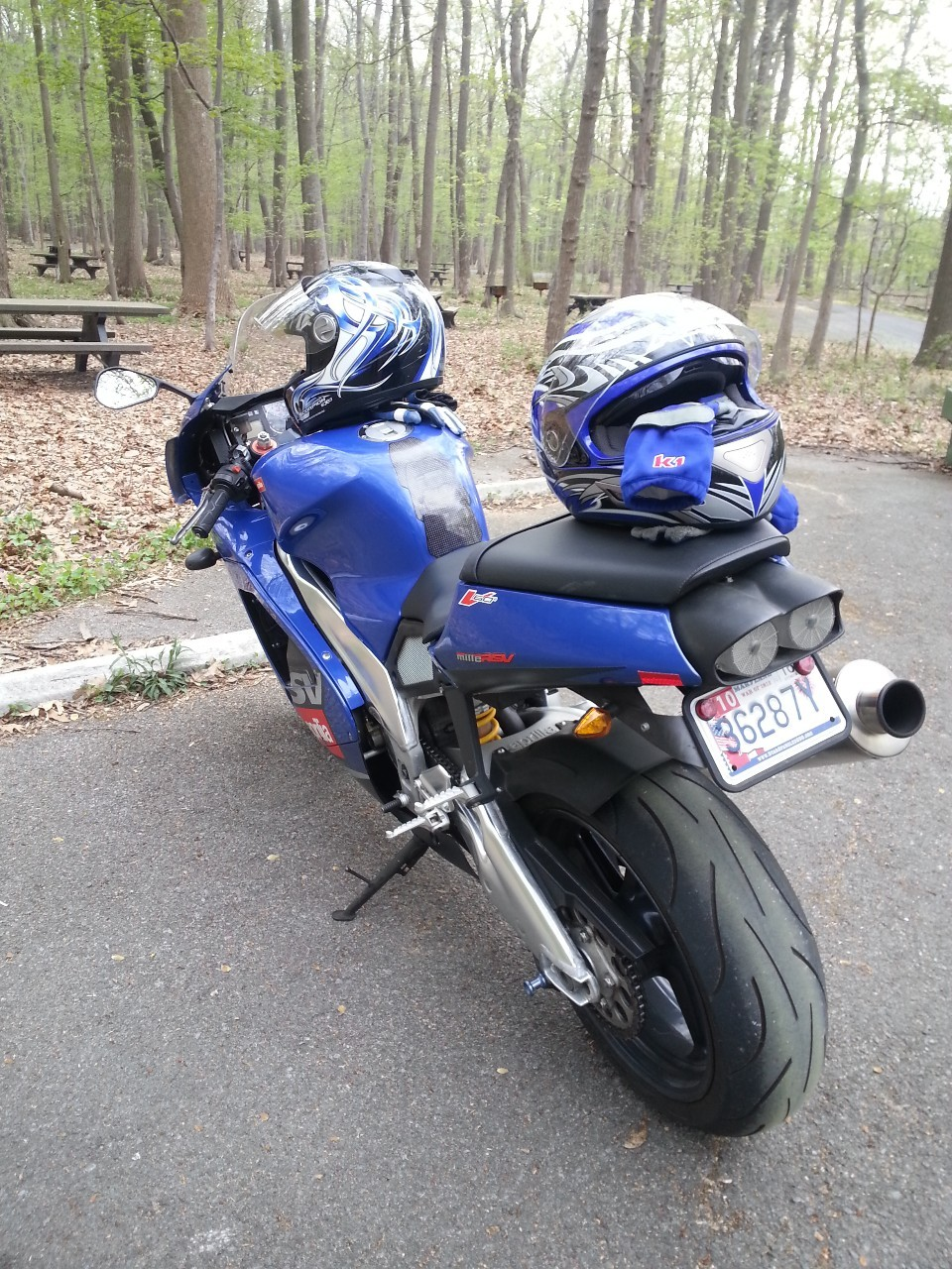 2001 Aprilia Rsv MILLE, motorcycle listing