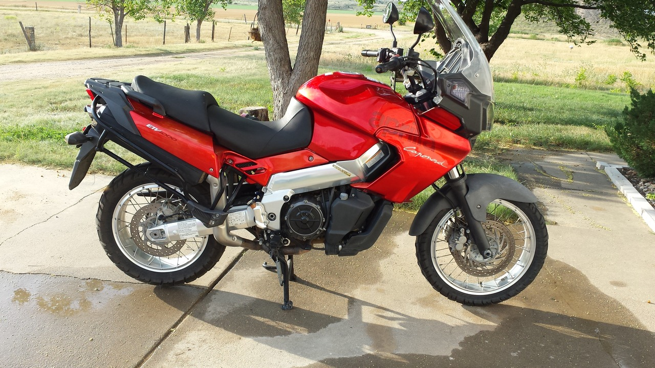 2002 Aprilia Caponord ETV 1000, motorcycle listing