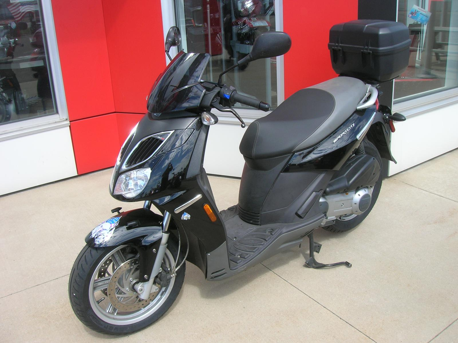 2008 Aprilia SPORTS CITY 250, motorcycle listing