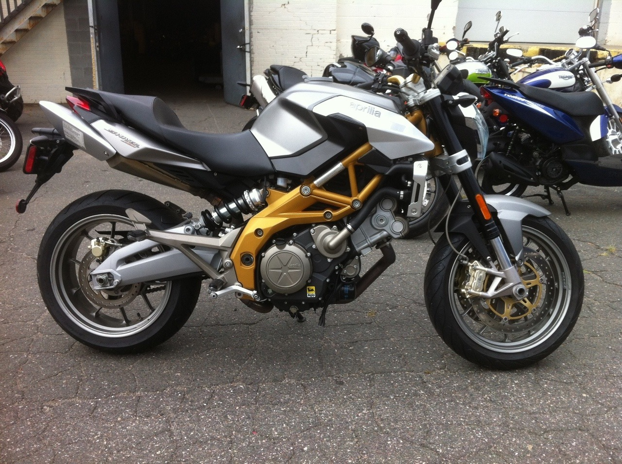 2008 Aprilia Shiver 750, motorcycle listing