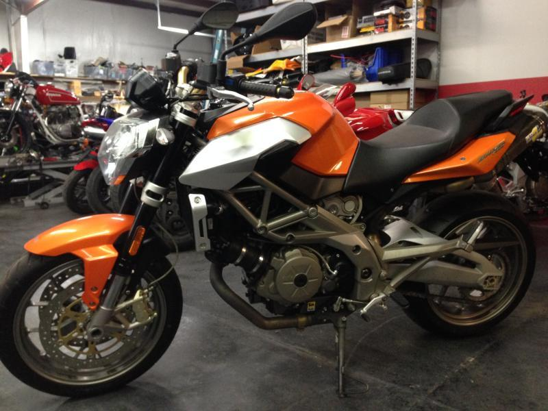 2009 Aprilia SHIVER 750, motorcycle listing
