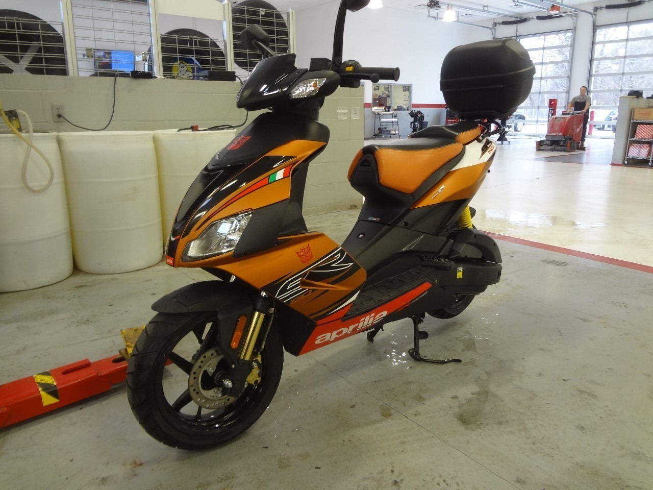 2013 Aprilia Sr 50 R Moped Motorcycle From Cedar Falls Ia