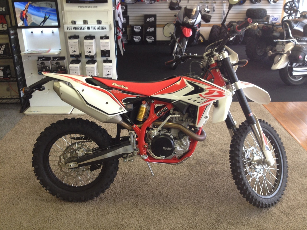 2014 Beta 520 RS, motorcycle listing