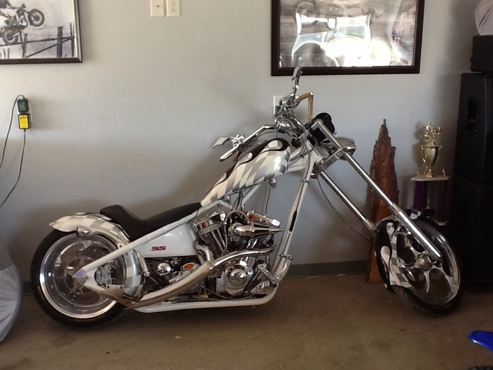2004 Big Dog Motorcycles Chopper , motorcycle listing
