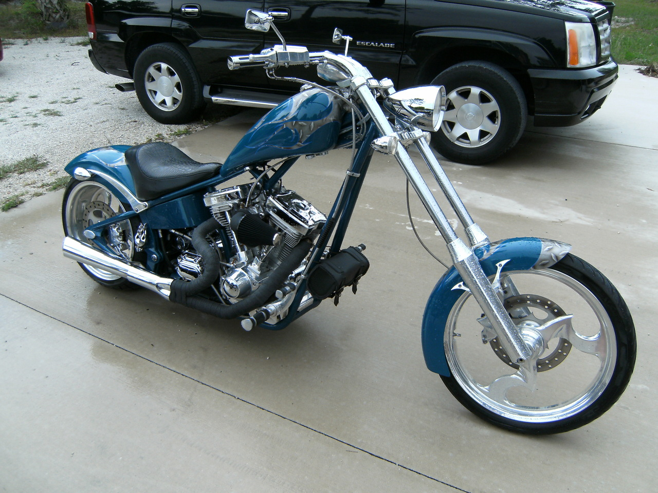 2004 Big Dog Motorcycles Chopper SOFTAIL, motorcycle listing