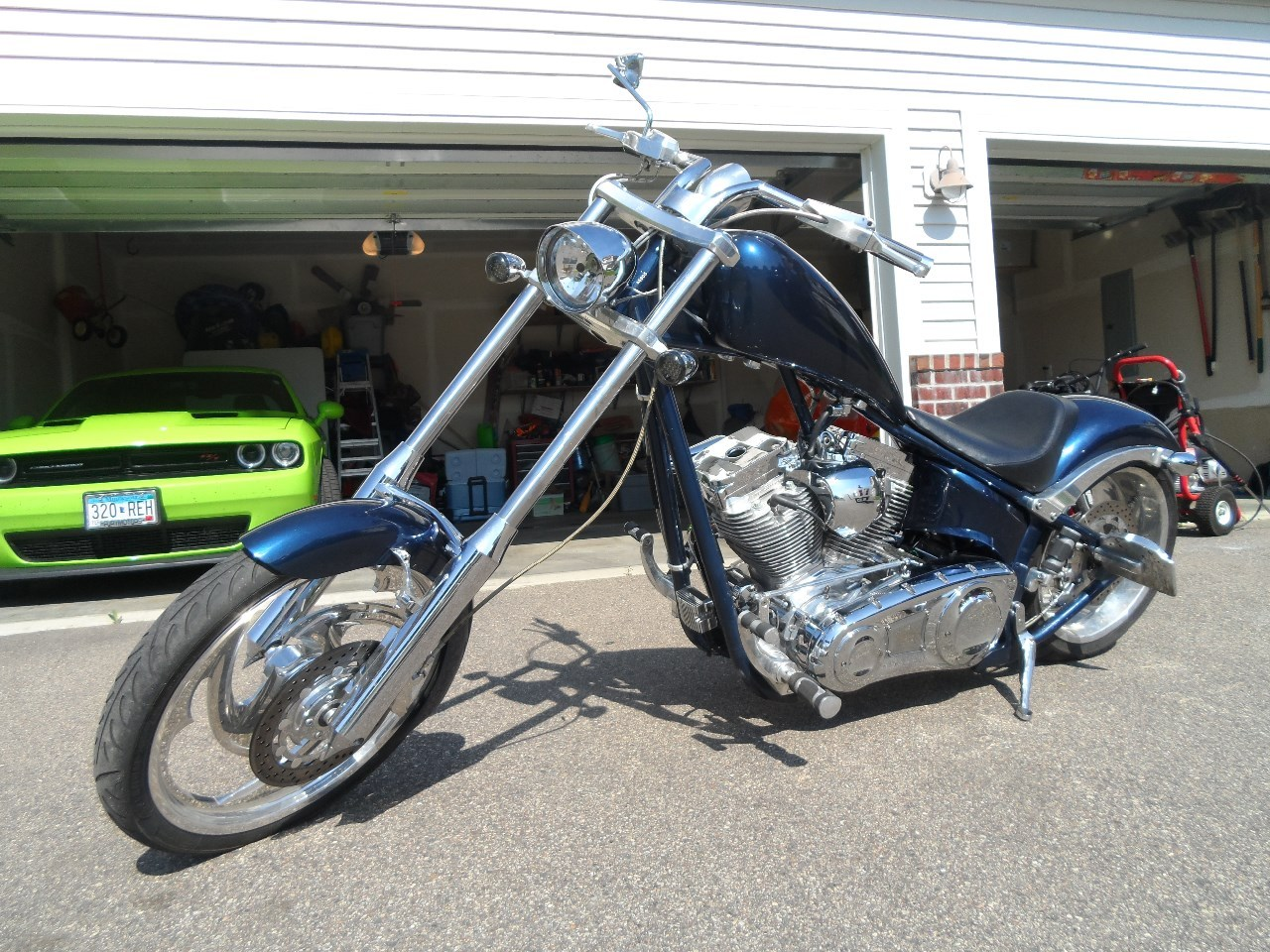 2005 Big Dog Motorcycles Chopper SOFTAIL, motorcycle listing