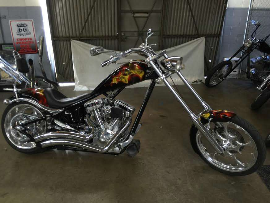 2007 Big Dog Motorcycles K-9, motorcycle listing