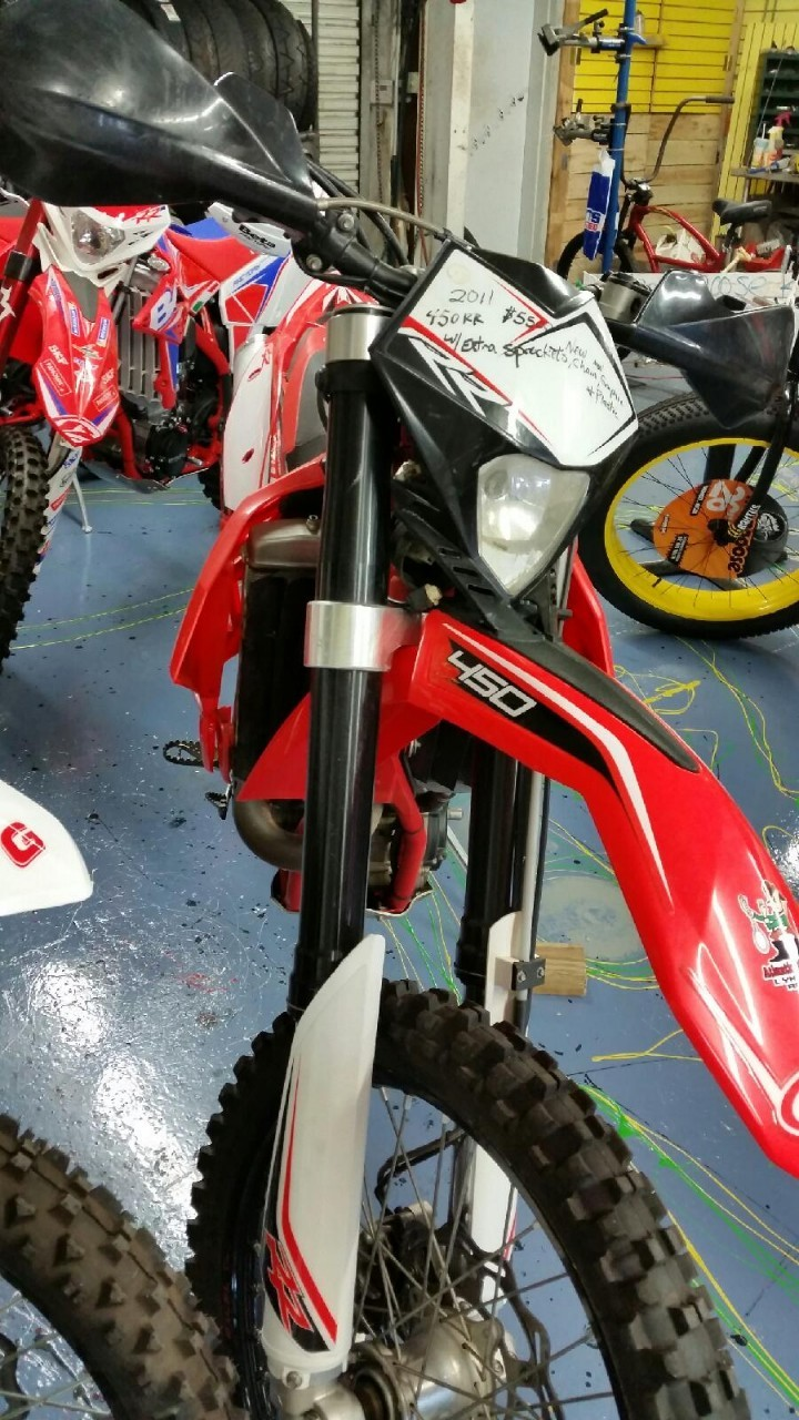 2011 Beta 450 RS, motorcycle listing