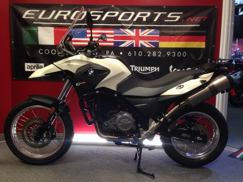 2014 BMW G 650 GS, motorcycle listing