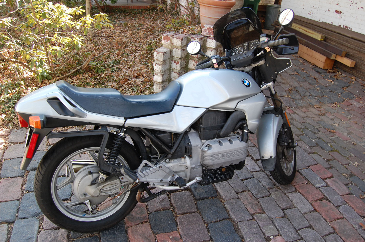1986 BMW K 75, motorcycle listing