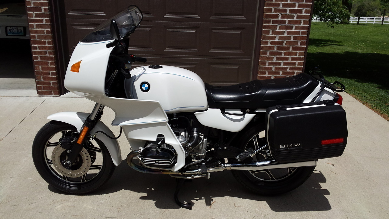 1988 BMW R 100 RS, motorcycle listing
