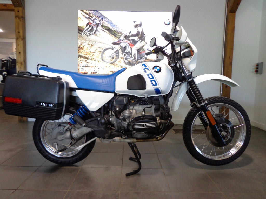 1988 BMW R100GS, motorcycle listing