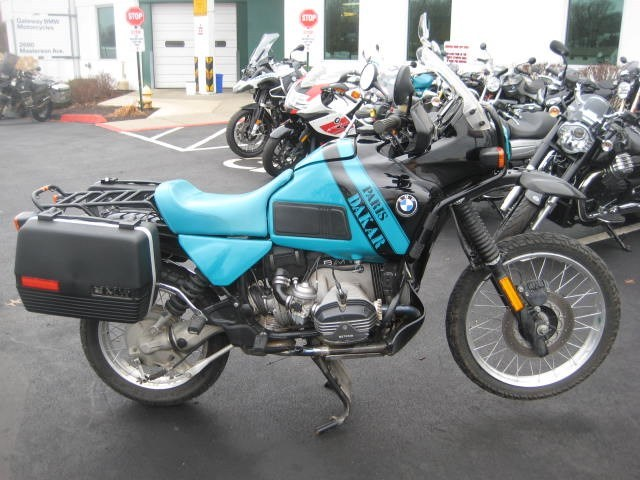 1991 BMW R100GS Paris Dakar  , motorcycle listing