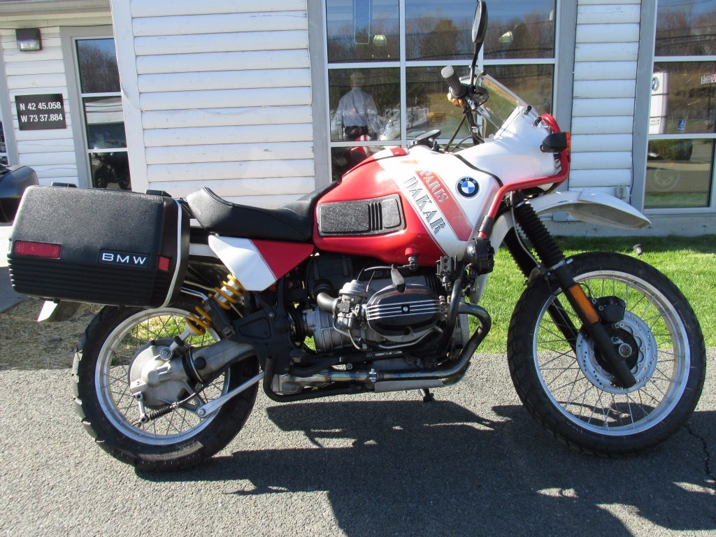 1991 BMW R100PD, motorcycle listing