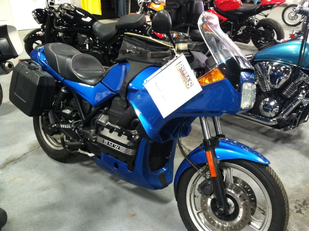1994 BMW K75/S, motorcycle listing