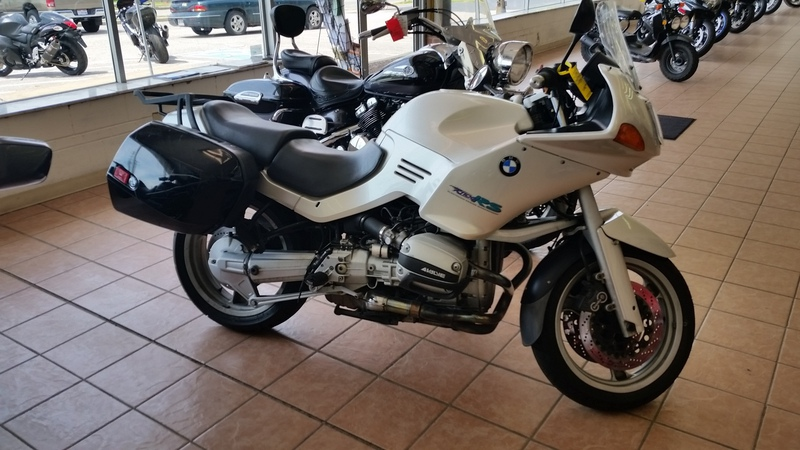 1994 BMW R1100RS, motorcycle listing