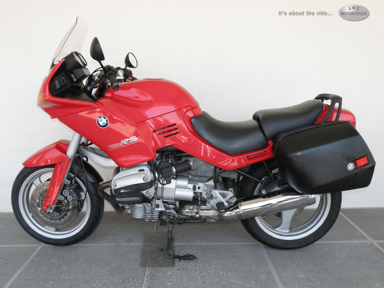 1995 BMW R1100RS, motorcycle listing