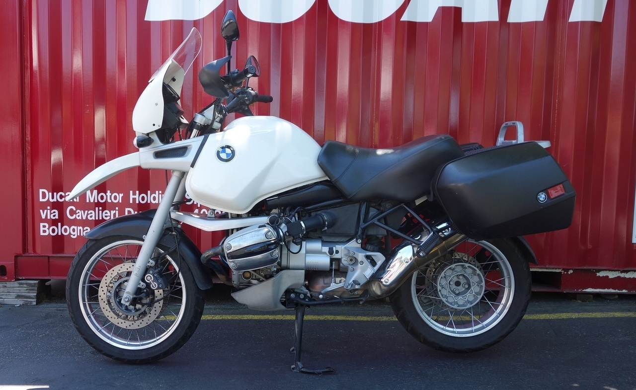 1996 BMW R1100GS, motorcycle listing