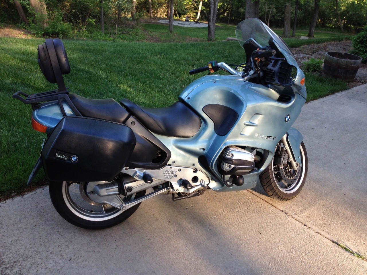 2000 BMW R 1100 RT, motorcycle listing