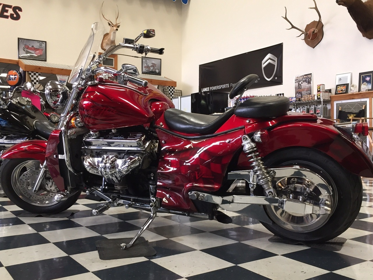 2001 Boss Hoss  BHC3 ZZ4, motorcycle listing